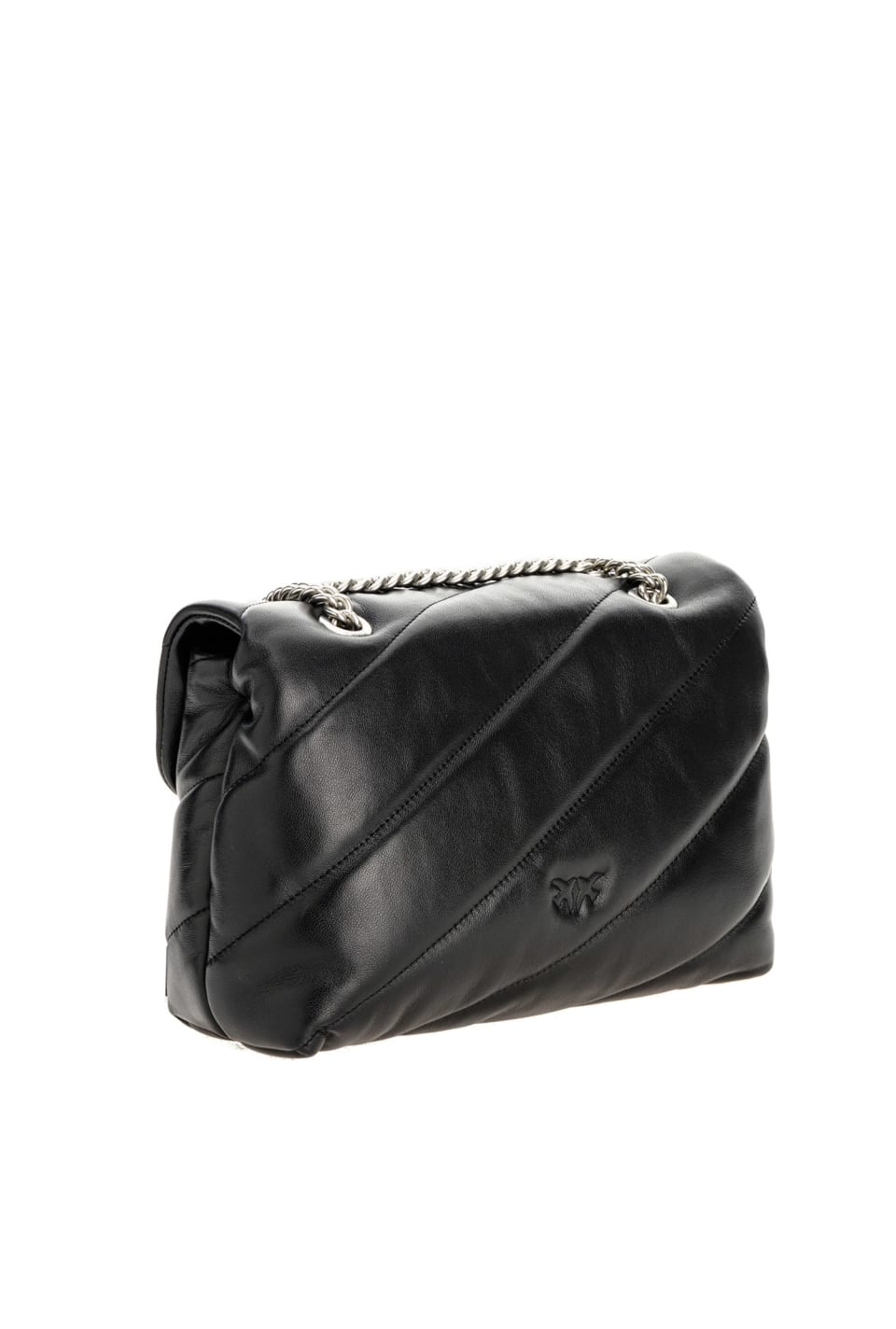 Classic Love Bag Puff Maxi Quilt in nappa leather