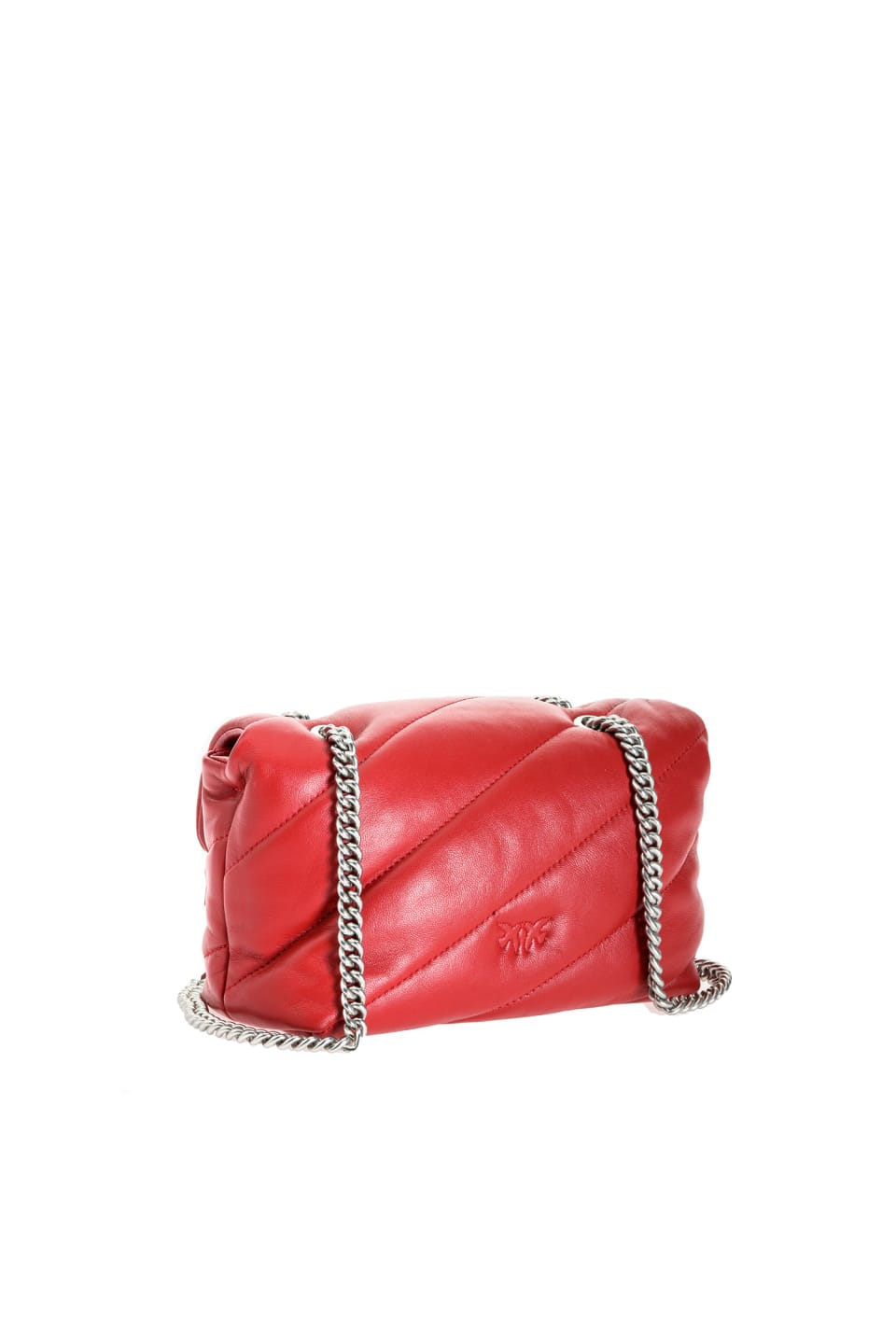 Mini Love Bag Puff Maxi Quilt in nappa leather