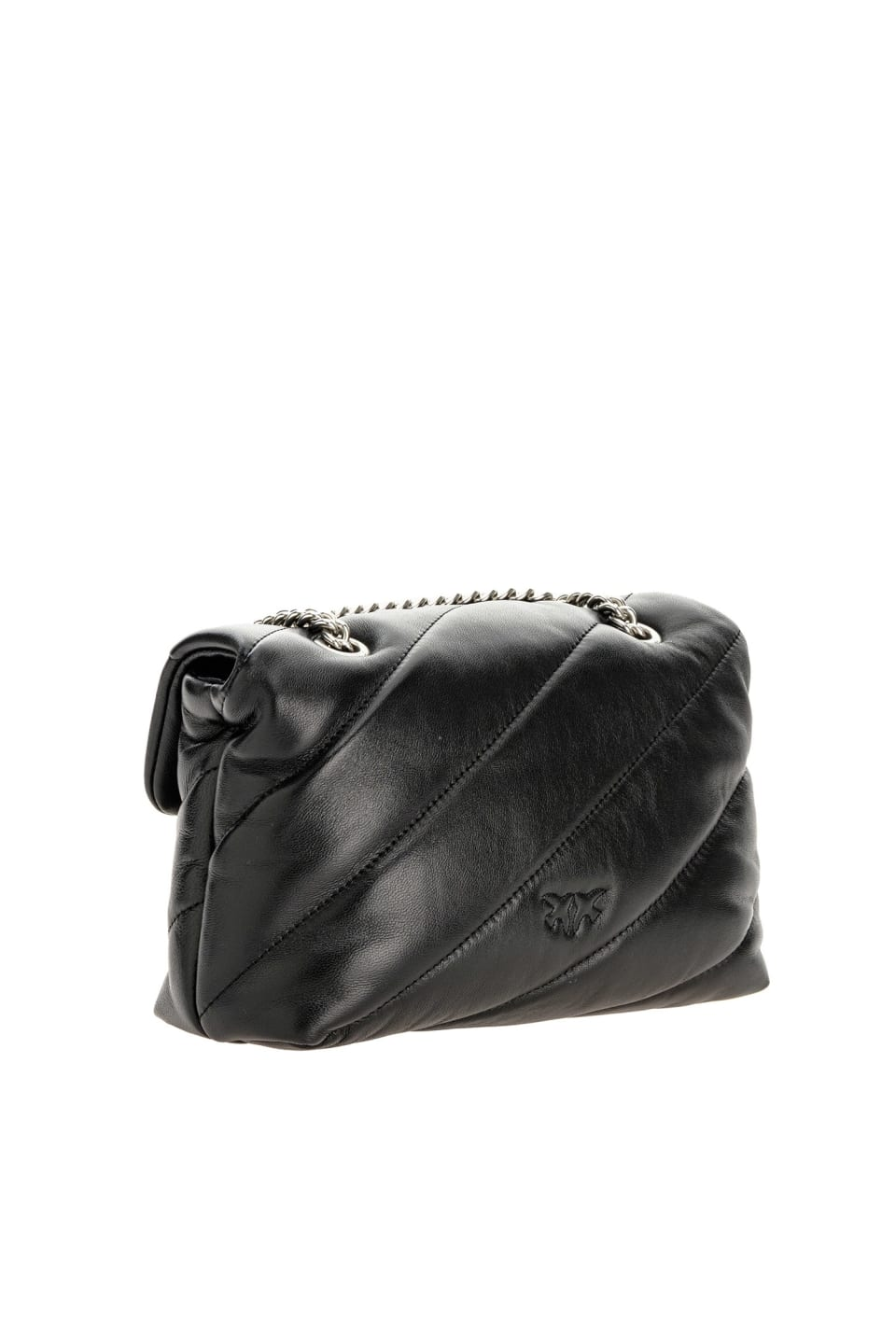 Mini Love Bag Puff Maxi Quilt in nappa leather - Pinko