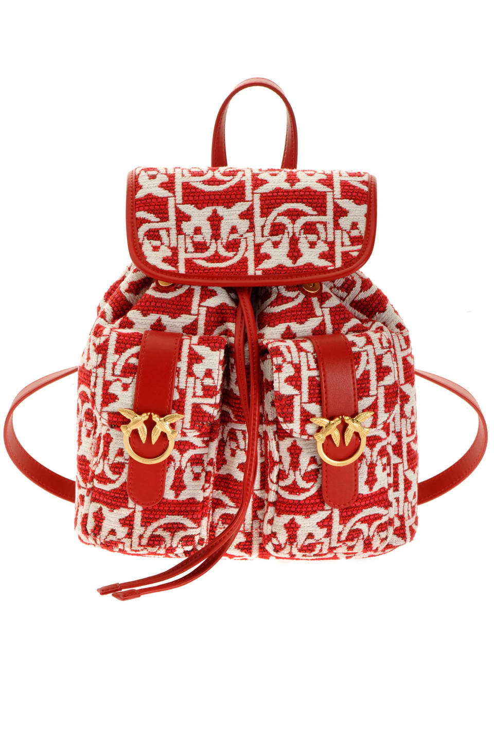 Jacquard Mini Backpack Monogram