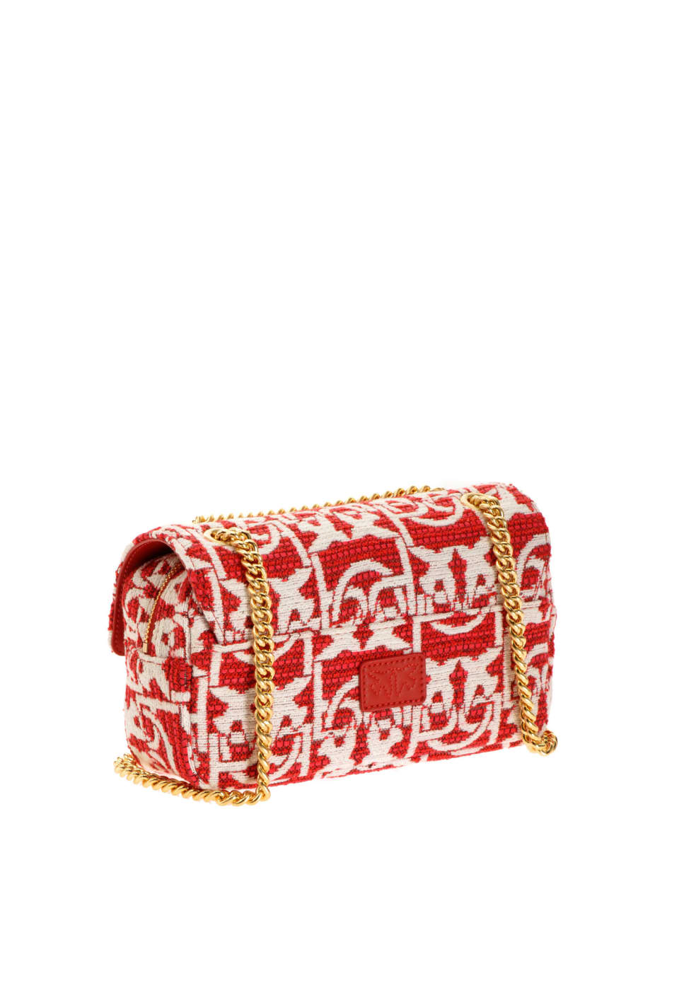 Mini Love Bag Puff Monogram jacquard - Pinko