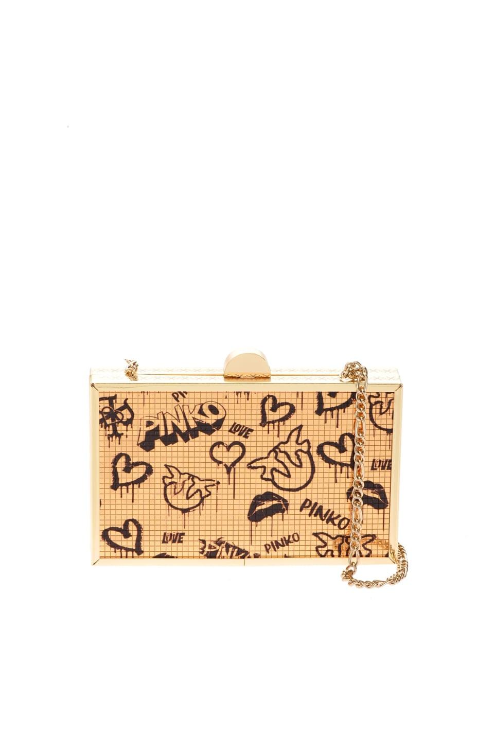 Clutch Party Disco with mural print - Pinko