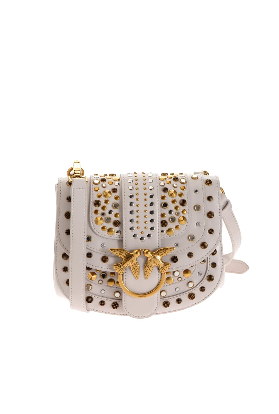 Go-Round Bag Soft New Studs with studs - Pinko