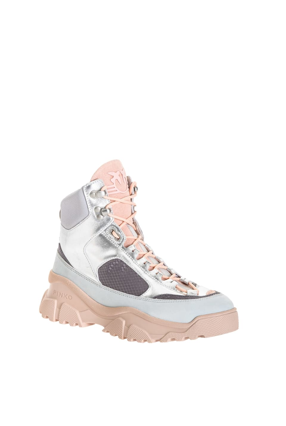 Sneakers High Trek lamées - Pinko