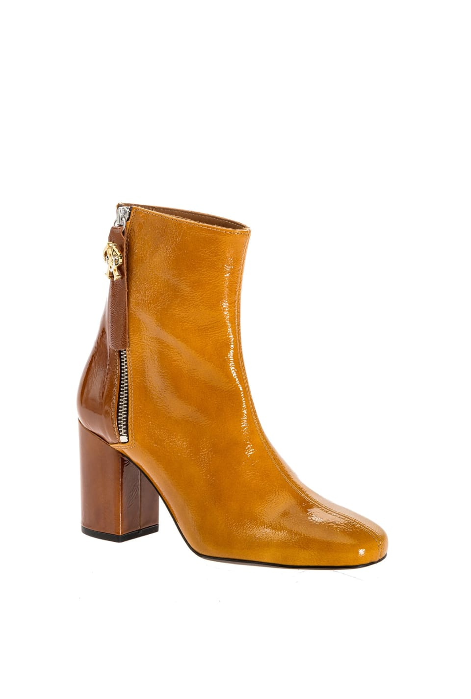 Two-colour ankle boots with Double P logo - Pinko