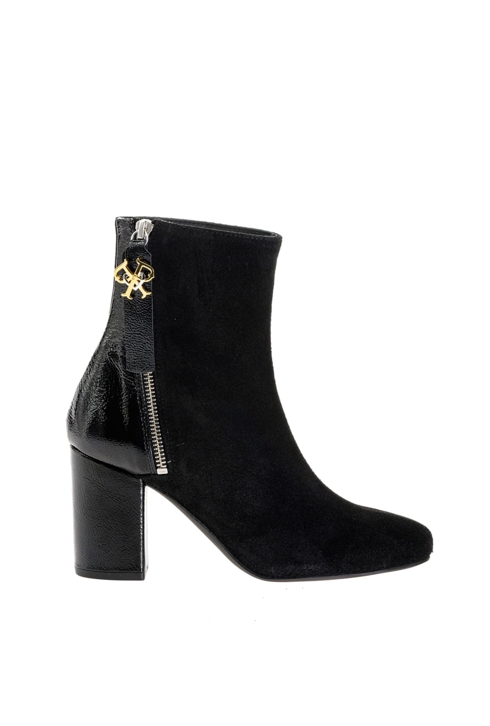 Bottines avec logo Double P - Pinko