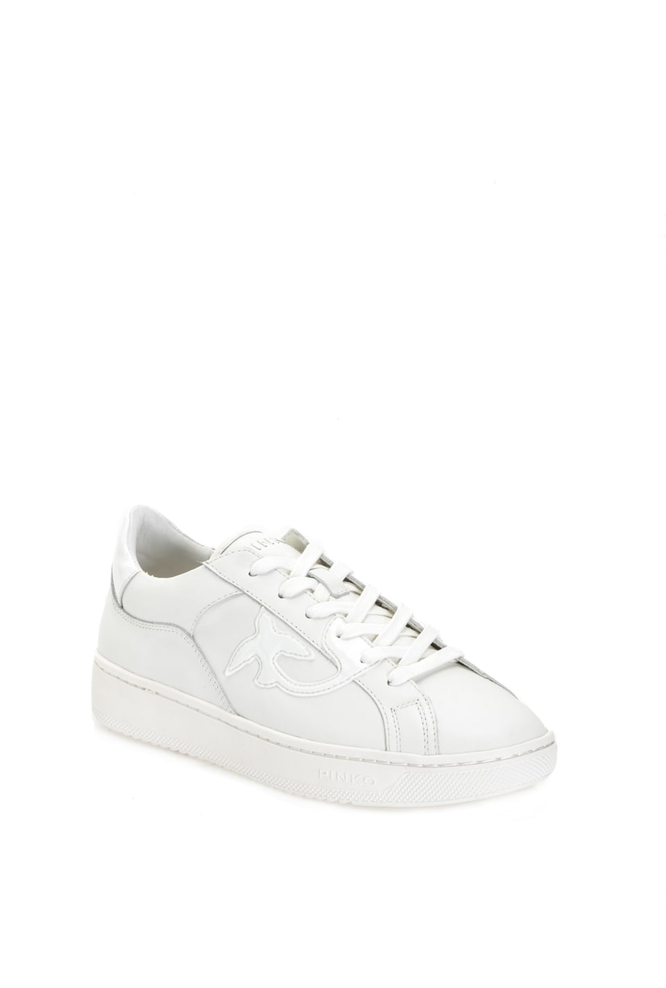 Flat sneakers in leather - Pinko