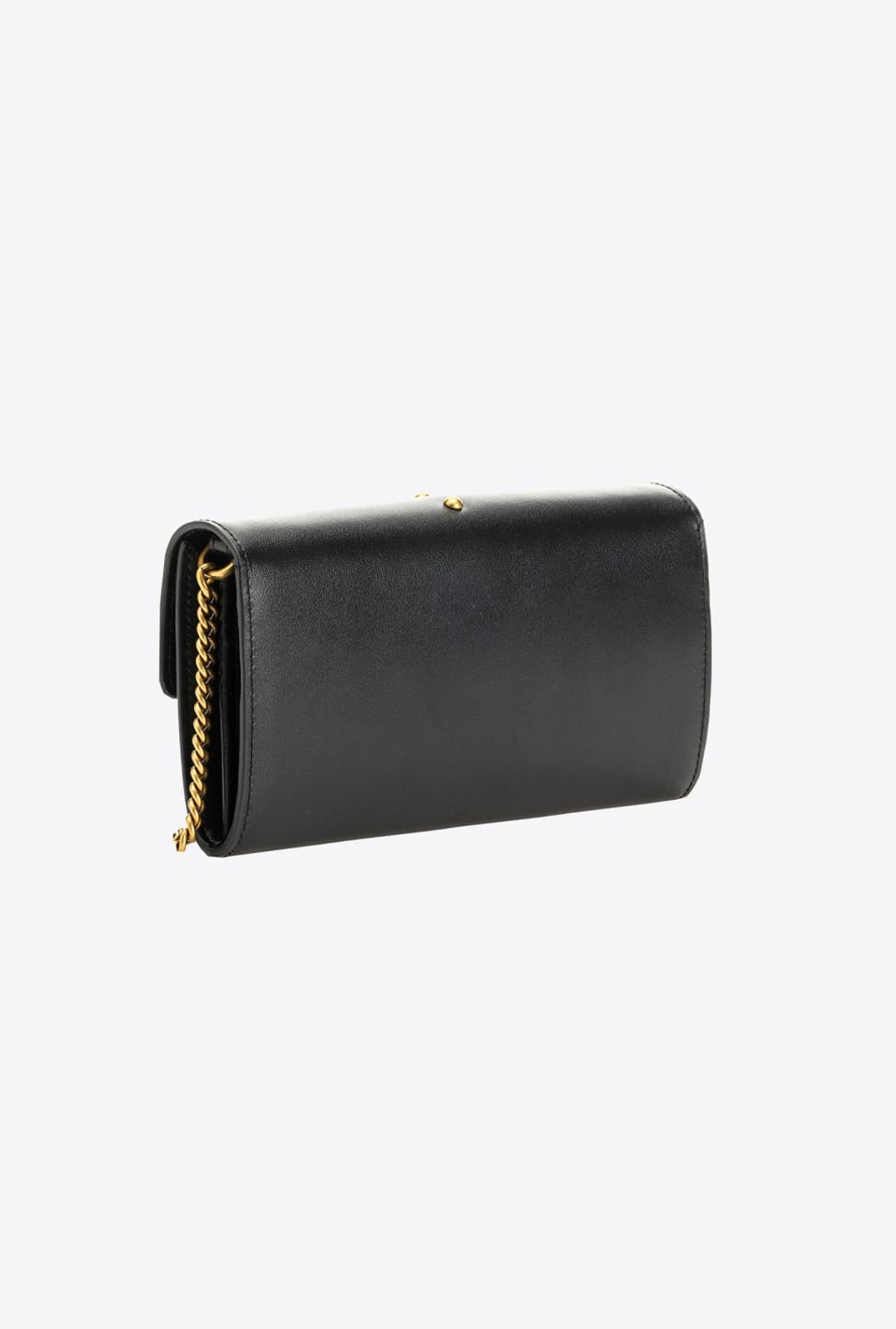Leather wallet with shoulder strap - Pinko