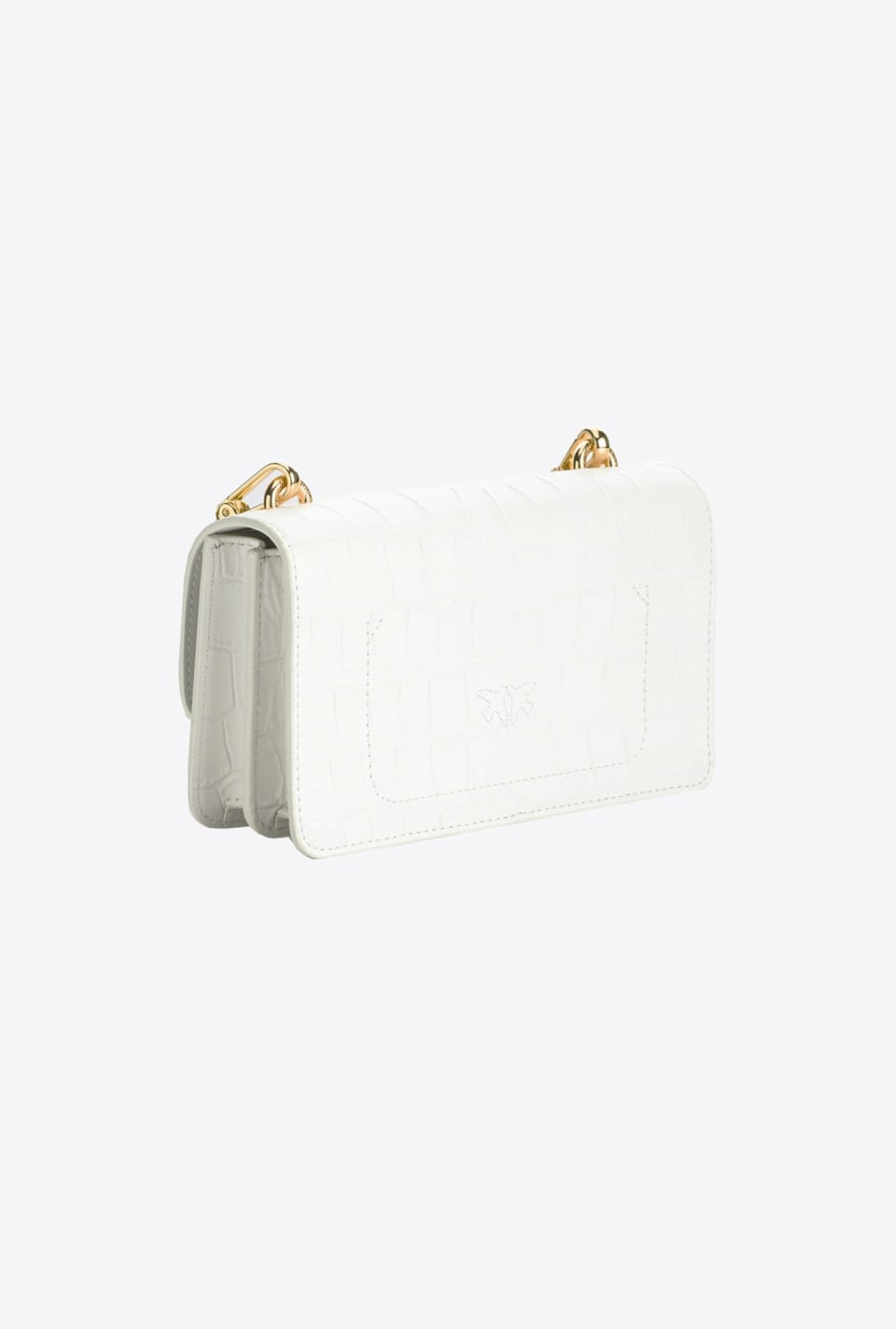 Mini Lovelink Bag Icon Croco Effect - Pinko