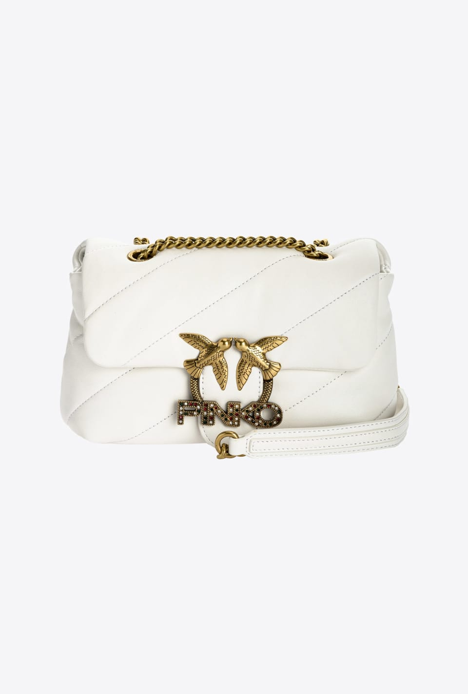 Mini Love Bag Puff Jewel - Pinko