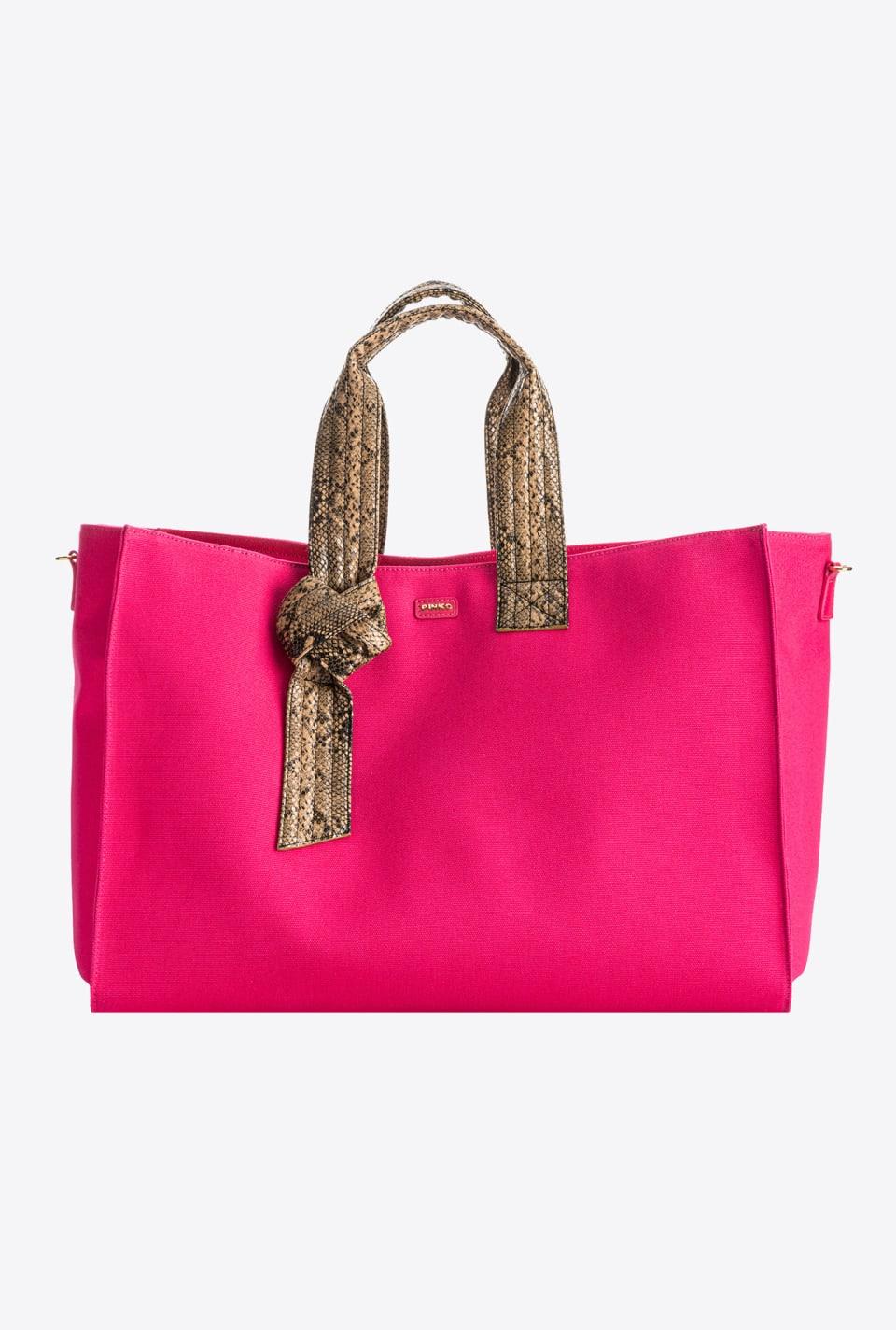 回收帆布大号购物包 - Pinko
