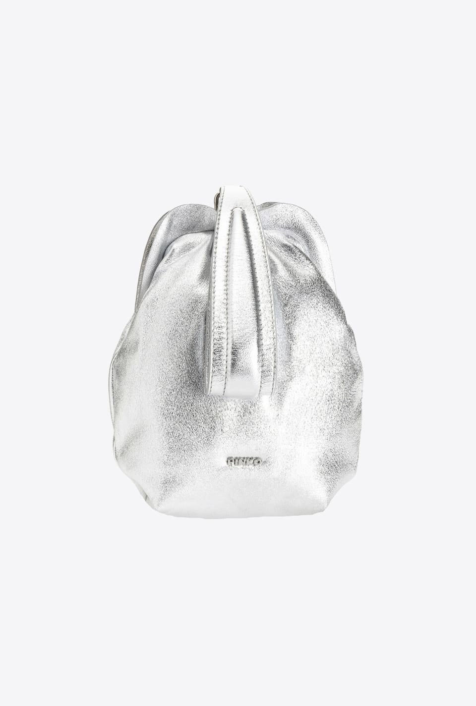 Soft Pouch Bag Fraimed lamé - Pinko