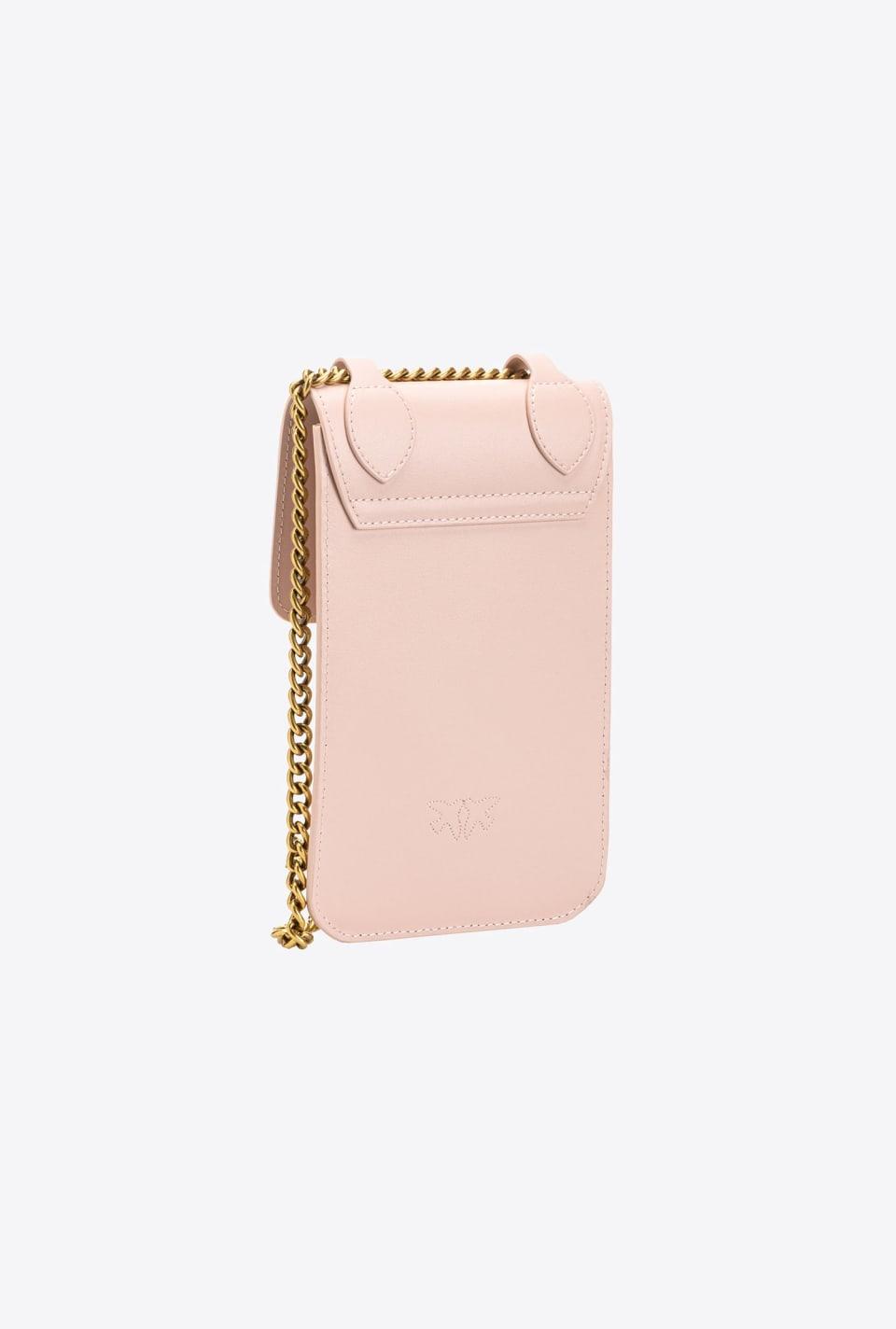 Porte-smartphone en cuir - Pinko