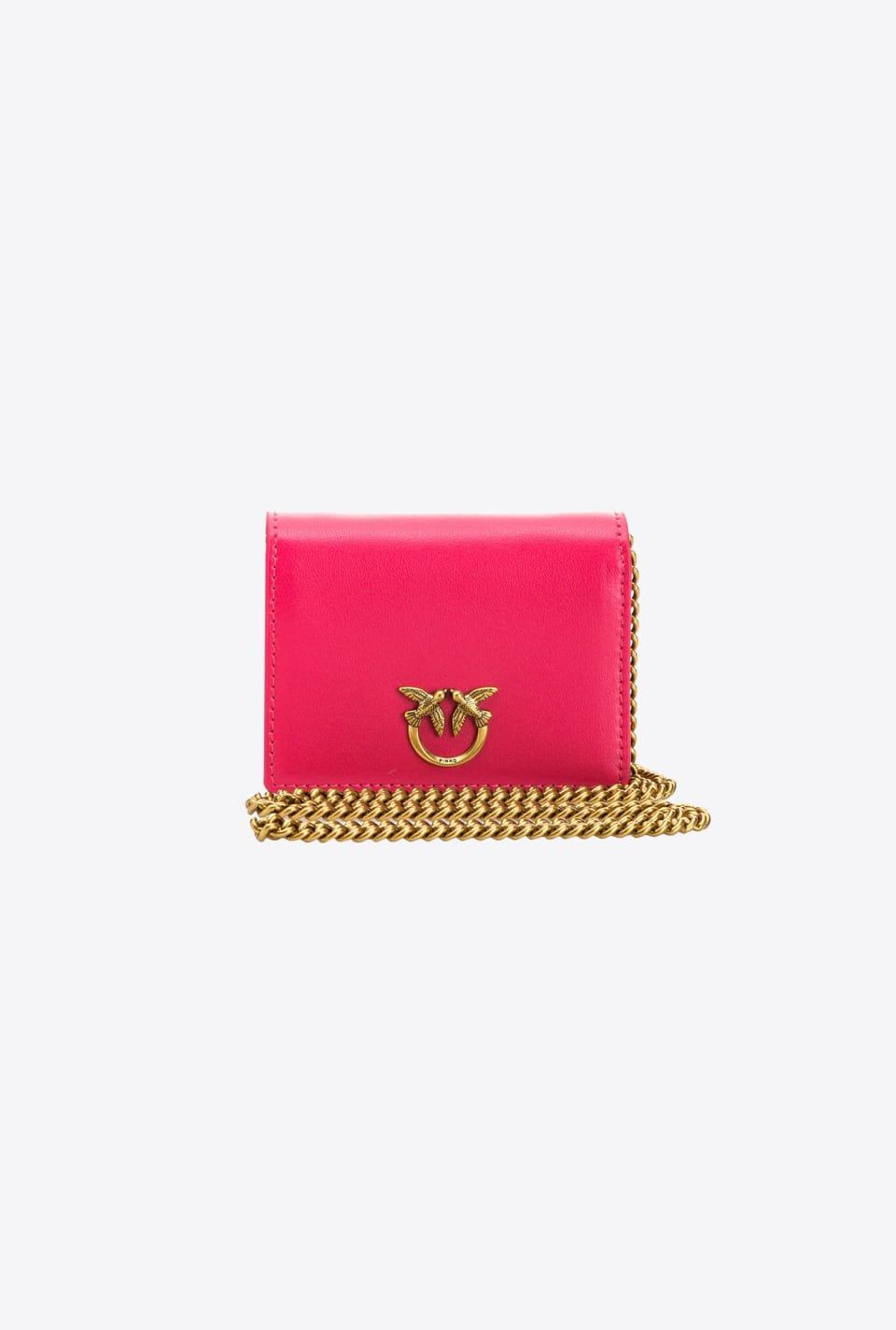 Shoulder credit card holder - Pinko