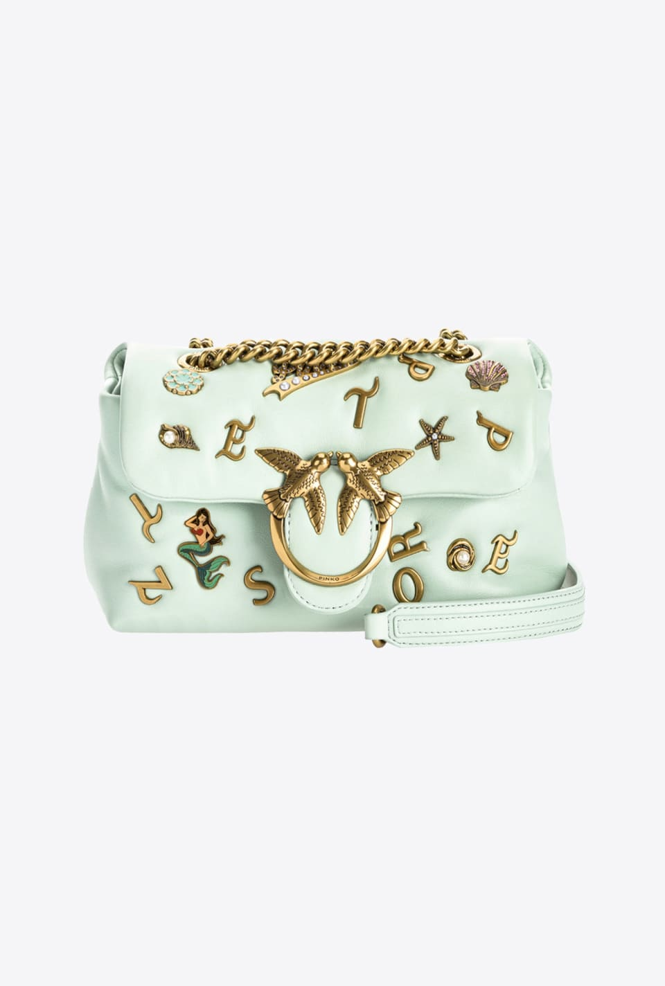 Mini Love Bag Puff Summer Pins - Pinko