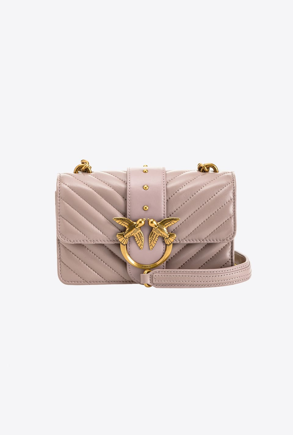 Mini Love Bag Icon V Quilt - Pinko