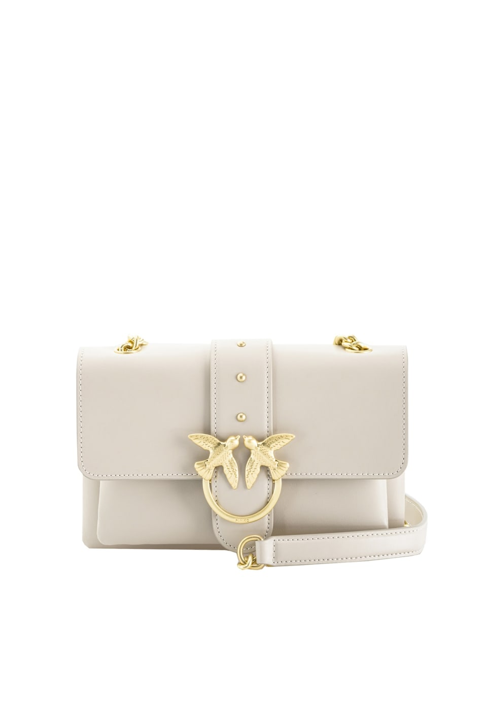 Mini Love Bag Soft Simply en cuir - Pinko