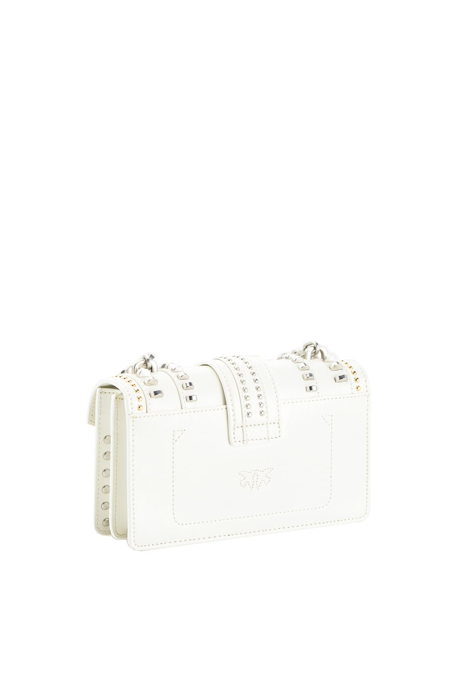 Mini Love Bag Mix Studs en cuir - Pinko