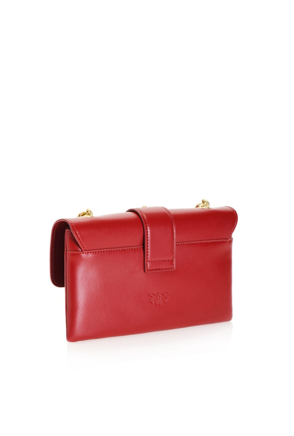 Simply Mini Love Bag Soft in leather - Pinko