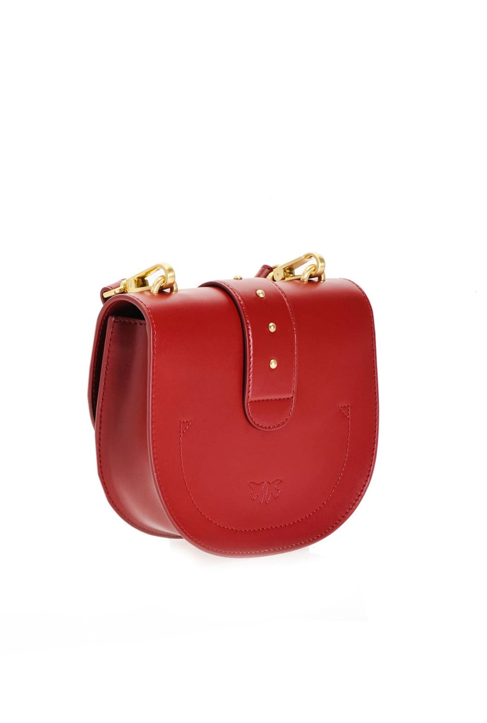 Simply Round Love Bag in leather - Pinko