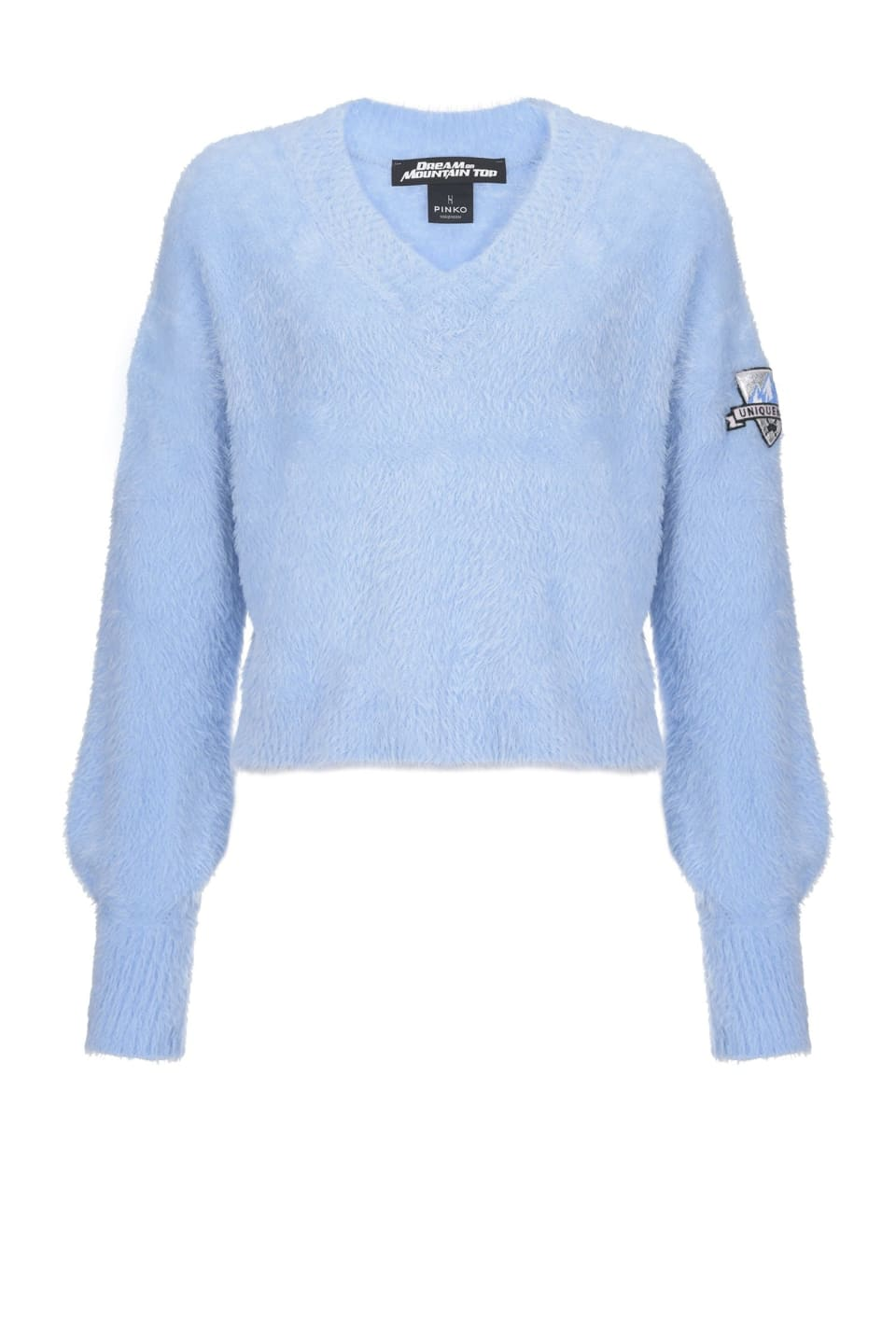 Soft tricot pullover