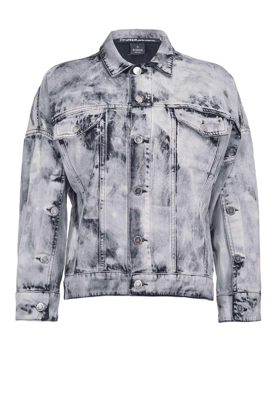 Marble-look jacket