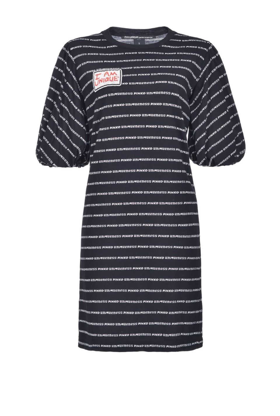 T-shirt dress in jersey with logo