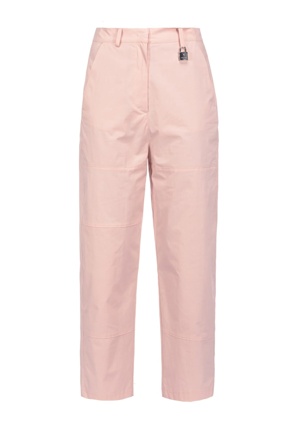 Trousers in poplin