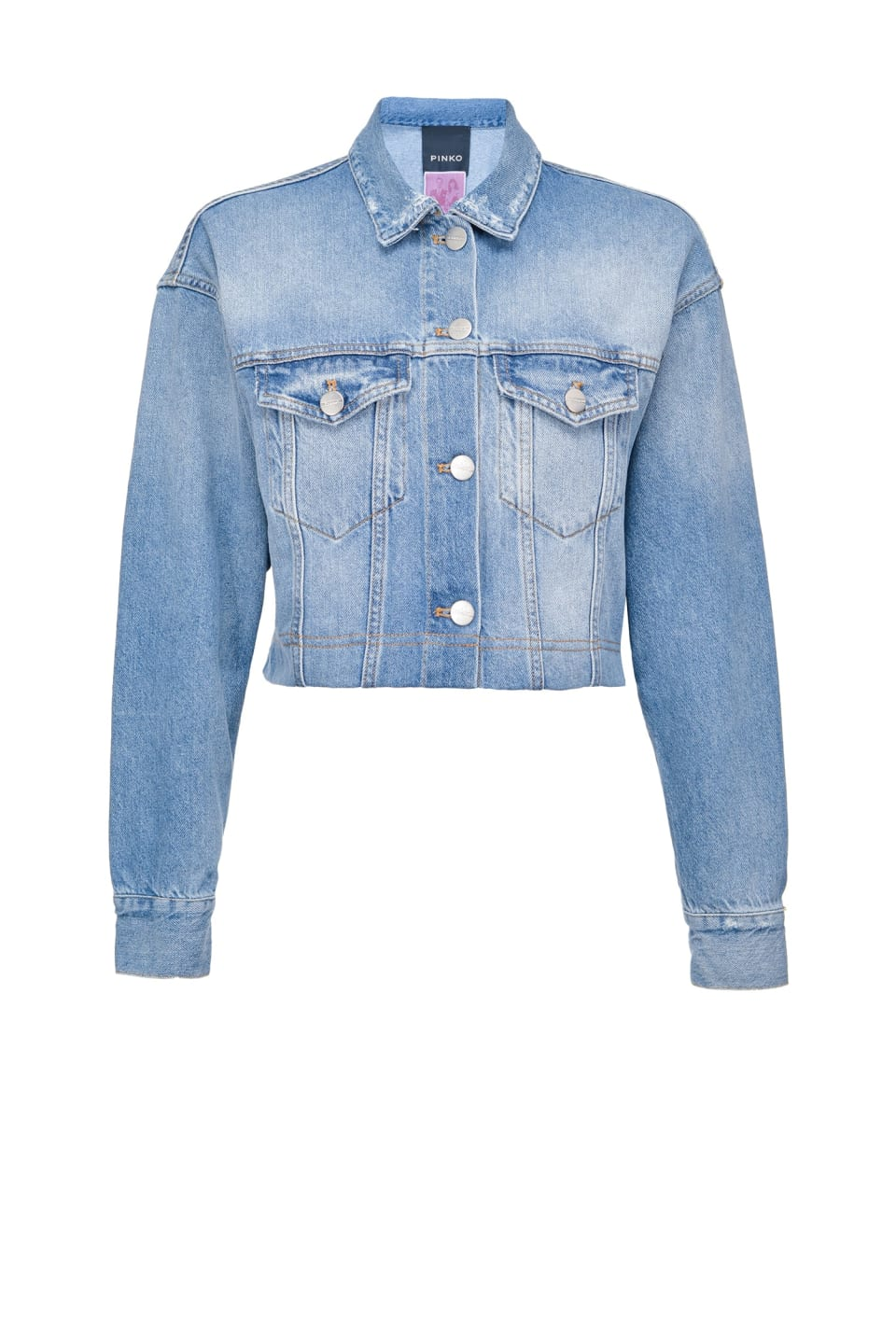 REIMAGINE denim jacket - Pinko