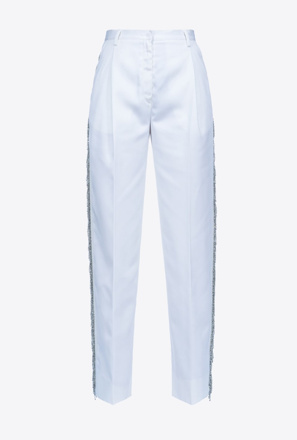 REIMAGINE white trousers - Pinko
