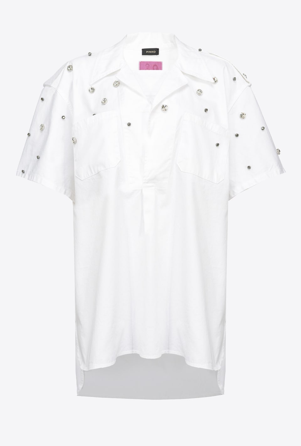 REIMAGINE short-sleeved shirt - Pinko
