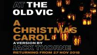 A Christmas Carol at The Old Vic theatre