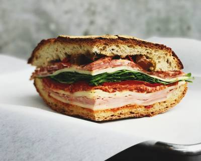 Grab a hearty sandwich to go from this quintessentially Italian neighbourhood deli.