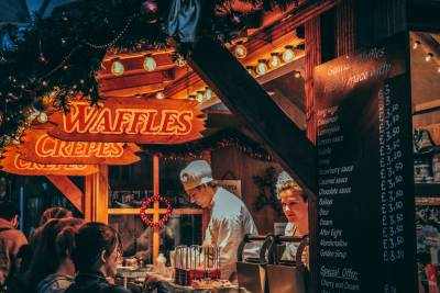 Experience one of London's most charming Christmas markets with a local guide