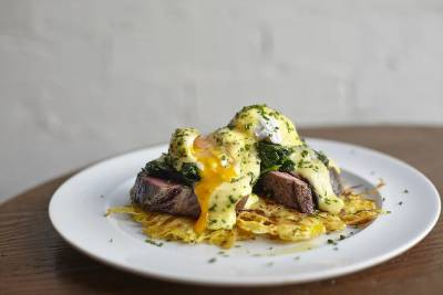 Fuel your body (or cure your hangover) with delicious steak and eggs