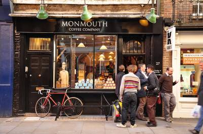 A cup of Monmouth Coffee is worth the wait