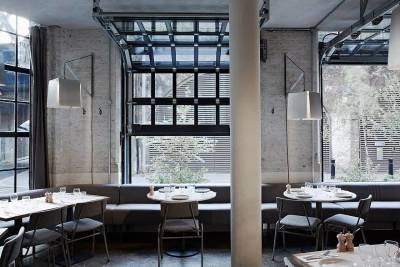 Stunning architecture and industrial-chic decor at Caravan Bankside