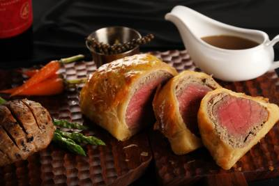 A sumptuous Beef Wellington is the perfect festive dish