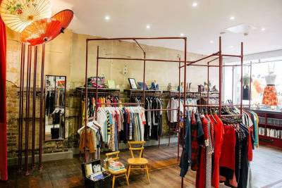 Second hand designer pieces abound at this Primrose Hill boutique