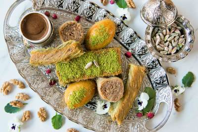 Beautiful to look at and delicious to eat baklava