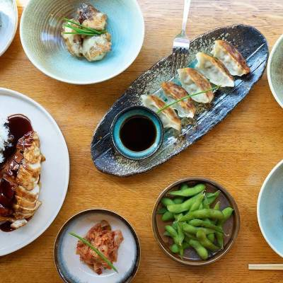 Delicious Japanese food from the Green Rooms kitchen