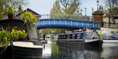 Enjoy a stroll along the canal
