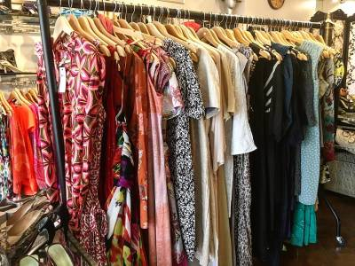 Bright and beautiful second hand designer pieces