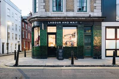 The gorgeous Labour and Wait shopfront