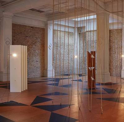 Installation by Leonor Antunes