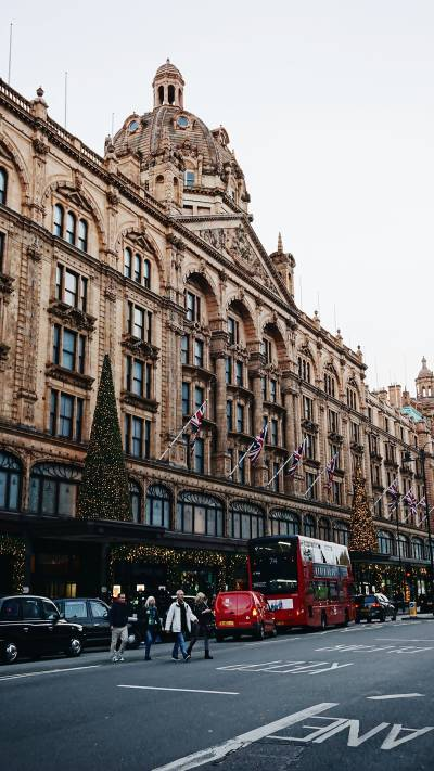 Harrods is at its most beautiful at Christmas time