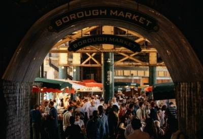 Get lost exploring the stalls and vendors at Borough Market