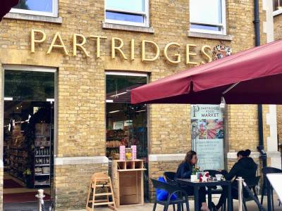 Partridges café terrace