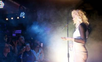 Rita Ora at Notting Hill Arts Club
