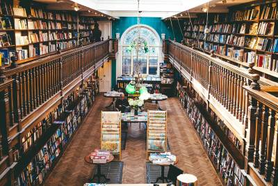 The Daunt Books premises originally belonged to antiquarian booksellers Francis Edwards.